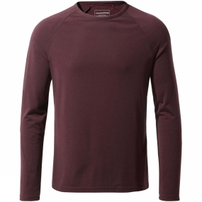 Craghoppers Mens 1st Layer Long Sleeve T-Shirt