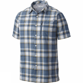 men-silver-ridge-plaid-short-sleeve-shirt