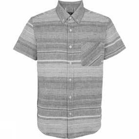 United By Blue United By Blue Mens Ridgerunner Striped Shirt Grey