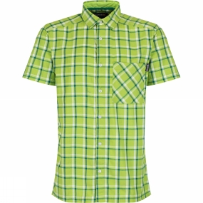 regatta-mens-mindano-ii-short-sleeve-shirt-lime-green