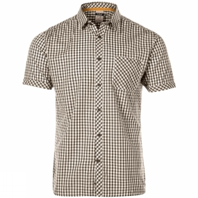 Rab Mens Checker Short Sleeve Shirt