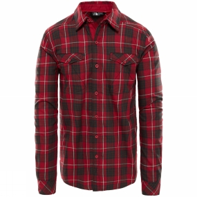 The North Face Mens Long Sleeve Lodge Shirt