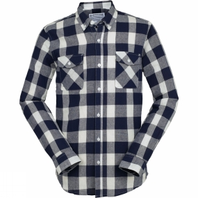 United By Blue United By Blue Mens Sansom Plaid Shirt Blue