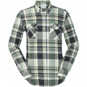 United By Blue United By Blue Mens South Plaid Shirt Green/Olive