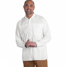 ExOfficio Mens BugsAway Breez'r Long Sleeve Shirt