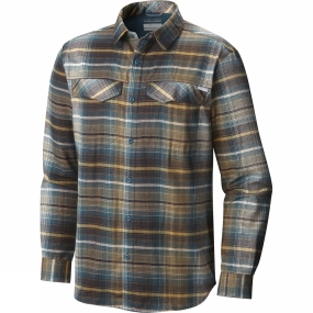 Mens Silver Ridge Flannel Long Sleeve Shirt