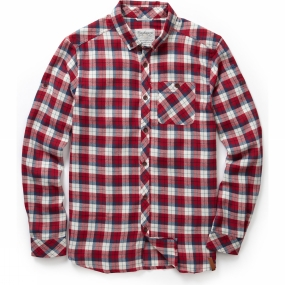 Craghoppers Craghoppers Mens Kearney Check Shirt Maple Red