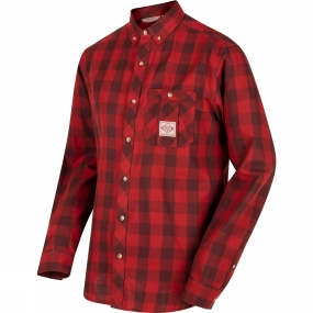 Regatta Mens Loman Long Sleeve Shirt