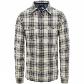 The North Face Mens Long Sleeve Arroyo Flannel Shirt