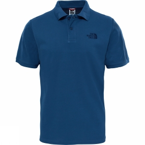 The North Face The North Face Mens Polo Piquet Shady Blue
