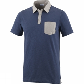 Columbia Mens Lookout Point Novelty Polo Shirt
