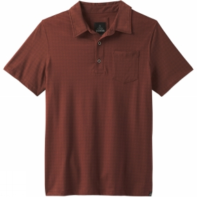 PrAna Mens Adder Polo Shirt