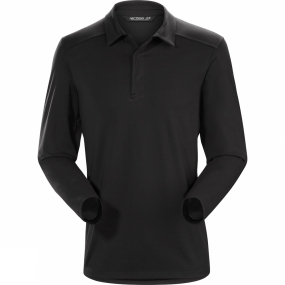 Arc'teryx Mens Captive Long Sleeve Polo