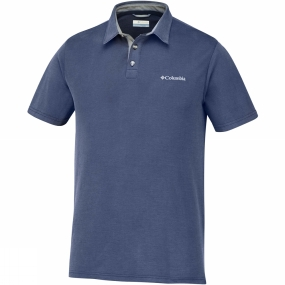 Columbia Mens Nelson Point Polo