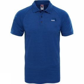 The North Face Mens Raglan Jersey Polo