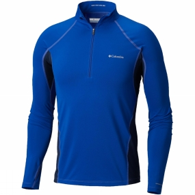 Columbia Mens Midweight Stretch Long Sleeve 1/2 Zip