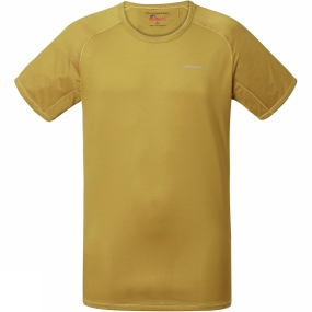 Craghoppers Craghoppers Mens NosiLife Short Sleeve Baselayer Top Levison Gold