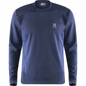 Haglofs Haglofs Mens Return Long Sleeved Tee Deep Blue