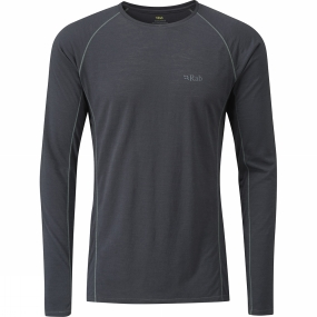 Rab Mens Merino+ 120 Long Sleeve Tee