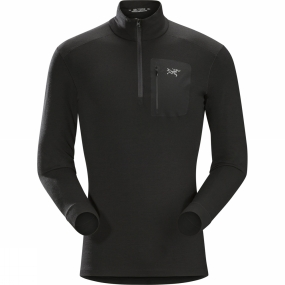 Arc'teryx Mens Satoro AR Long Sleeve Zip Neck