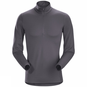 Arc'teryx Men's Phase AR Long Sleeve Zip Neck