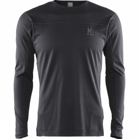 Haglofs Haglofs Men's Actives Blend Roundneck True Black