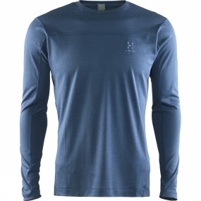 Haglofs Haglofs Men's Actives Blend Roundneck Blue Ink