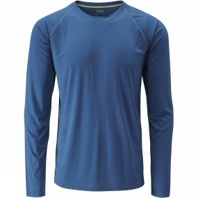 Rab Mens Aerial Long Sleeve Tee