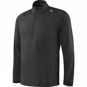 Saxx Saxx Mens Thermo-Flyte Long Sleeve Top Black
