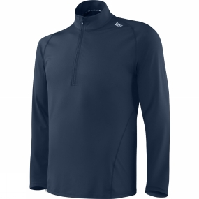 Saxx Saxx Mens Thermo-Flyte Long Sleeve Top Navy