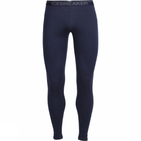 Icebreaker Icebreaker Mens Oasis Leggings Midnight Navy