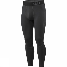 Saxx Saxx Mens Thermo-Flyte Tights with Fly Black