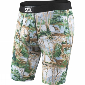 Saxx Saxx Mens Vibe Long Leg Modern Fit Boxers Paint By Numbers