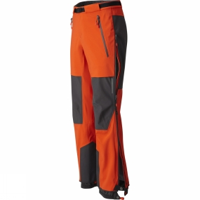 Mountain Hardwear Mountain Hardwear Mens Cyclone Pants State Orange