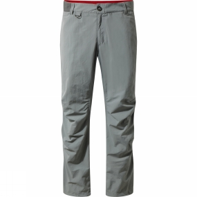 Craghoppers Craghoppers Mens NosiLife Elbrus Trousers Quarry Grey
