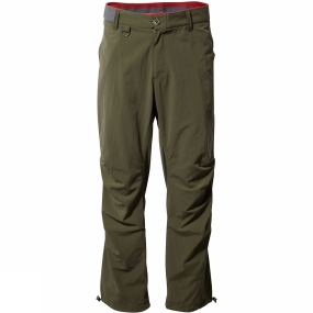 Craghoppers Craghoppers Mens NosiLife Elbrus Trousers Dark Moss
