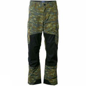 Craghoppers Craghoppers Mens Discovery Adventures Trousers Dark Moss Combo