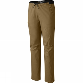 Mountain Hardwear Mountain Hardwear Mens AP Scrambler Pants Golden Brown