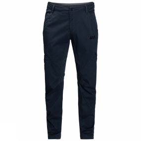 Jack Wolfskin Jack Wolfskin Mens Willcox Trousers Night Blue