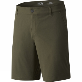 Mountain Hardwear Mountain Hardwear Mens Right Bank Shorts Peatmoss