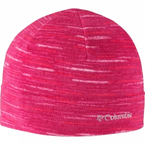 Columbia Glacial Fleece Hat Red Orchid Strata