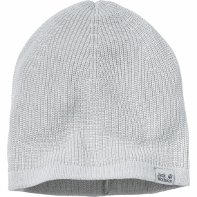 Jack Wolfskin Real Knit Beanie Grey Haze