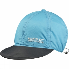 Regatta Pack-It Peak Cap Atoll Blue