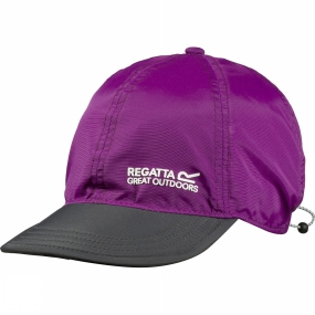 Regatta Pack-It Peak Cap Vivid Viola