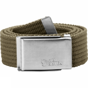 Fjallraven Mens Merano Canvas Belt Taupe