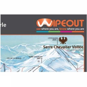 Wipeout Wipeout Serre Chevalier Piste Map Lens Cloth SERRE CHEVALIER
