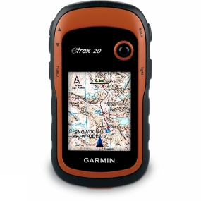 Garmin eTrex 20 GPS BirdsEye Select GB No Colour
