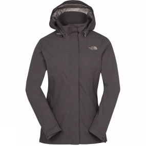 The North Face Womens Sangro Hyvent Jacket Rabbit Grey