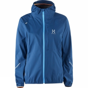 Haglofs Womens L.I.M Proof Q Jacket Blue Ink