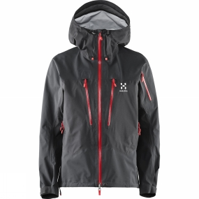 Haglofs Haglofs Womens Spitz Jacket True Black / Real Red